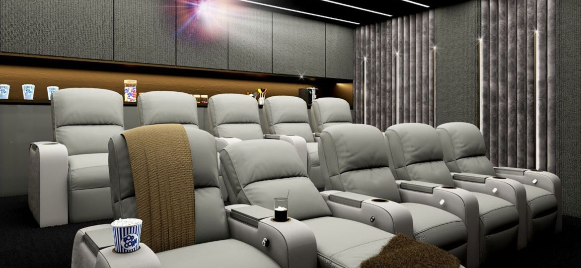 Luxury Home Cinema, Home Automation South Africa, Smart Home Technology